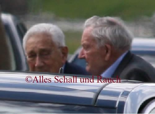 Kissinger e Rockefeller