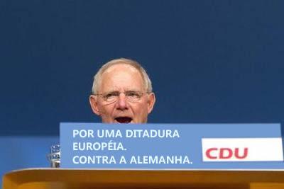 O insano Schäuble